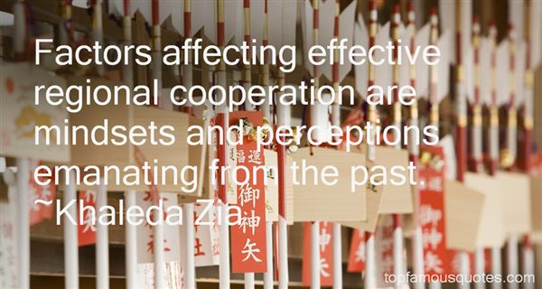 Quotes About Regional Cooperation