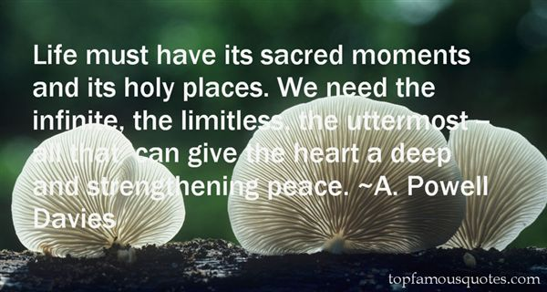 Quotes About Sacred Places