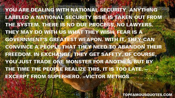 Quotes About Security And Freedom