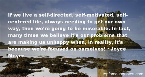 Quotes About Self Centered