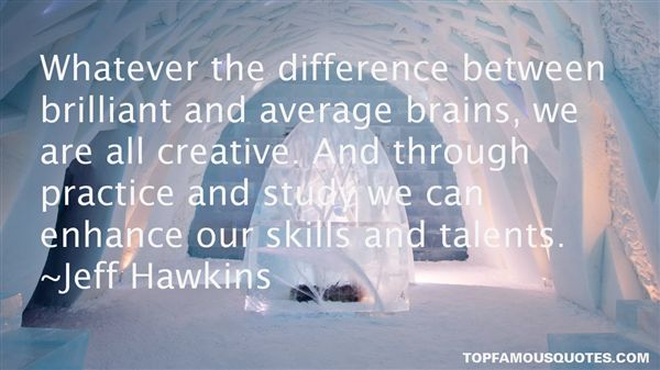 Quotes About Skills And Talent