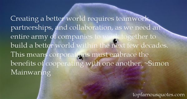 Quotes About Teamwork At Work
