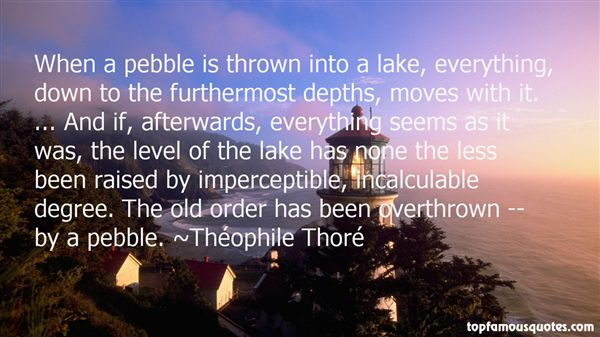 Quotes About Thrown