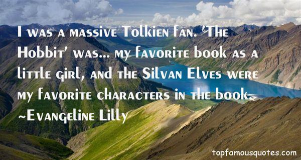 Quotes About Tolkien Elves