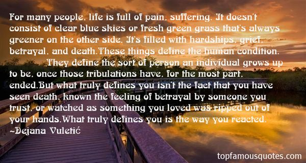 Quotes About Tribulation