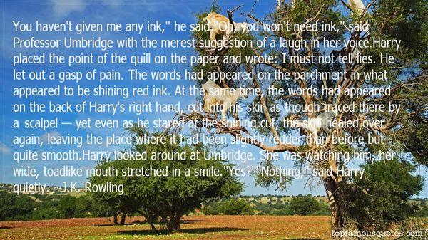 Quotes About Umbridge