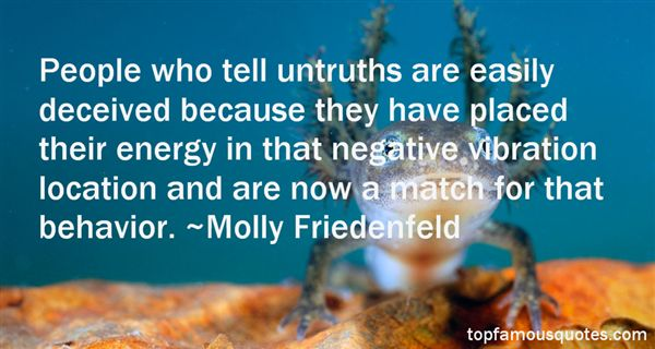 Quotes About Untruths