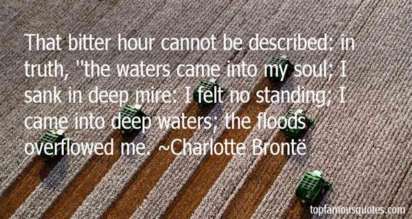 Quotes About Water Floods