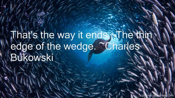 Quotes About Wedge