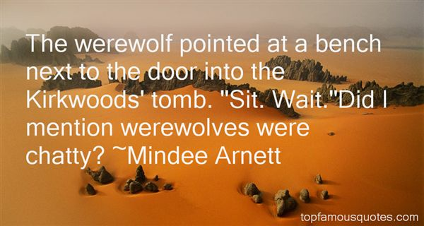 Quotes About Werewolf