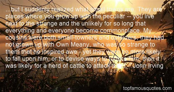 Quotes About Where You Grow Up
