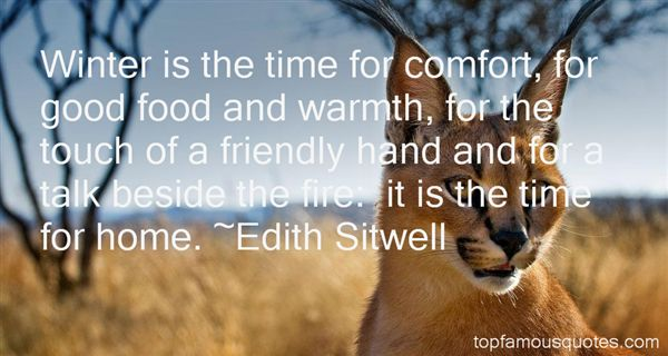 Quotes About Winter Food
