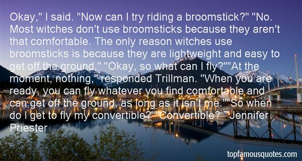 Quotes About Witches Brooms