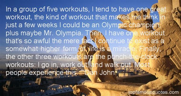 Quotes About Workouts