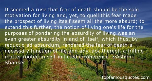 Quotes About Absurdity Of Life
