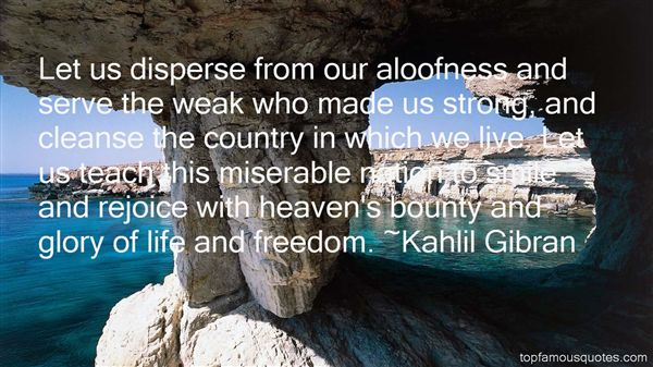 Quotes About Aloofness