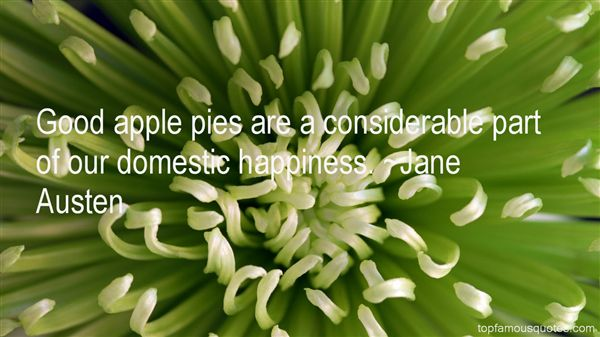 Quotes About Apple Pies