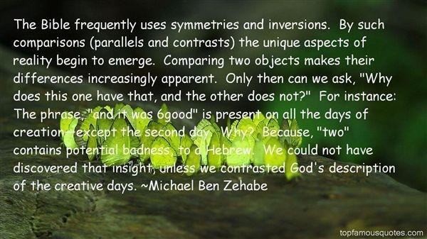 Quotes About Bible Comparison
