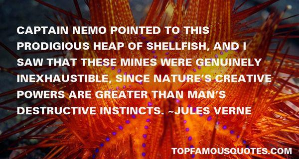 Quotes About Captain Nemo