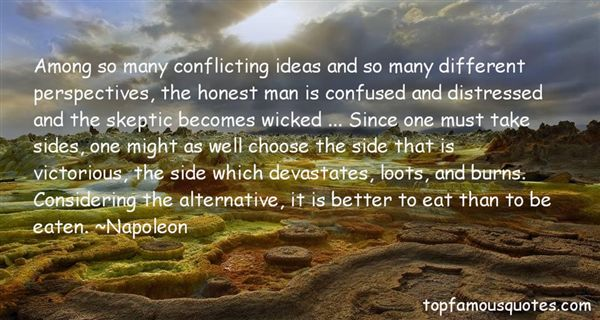 Quotes About Conflicting Ideas