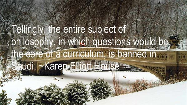 Quotes About Core Curriculum