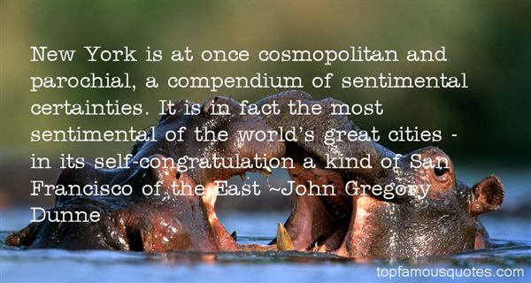 Quotes About Cosmopolitan