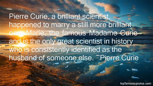 Quotes About Curie