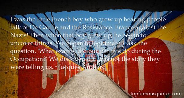 Quotes About De Gaulle