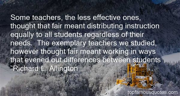 Quotes About Effective Teachers