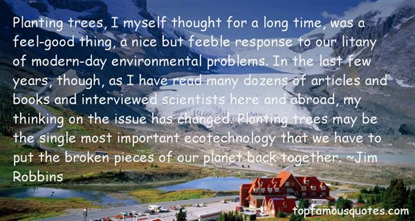 Quotes About Environmental Problems