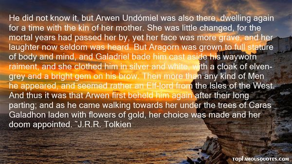 Quotes About Galadhon