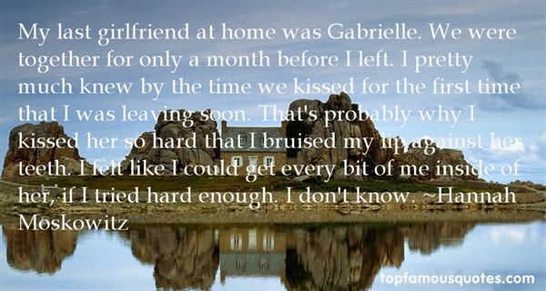Quotes About Girlfriend Leaving