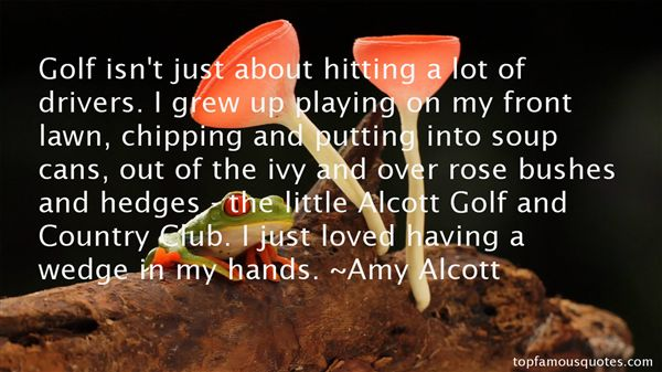 Quotes About Golf And Love