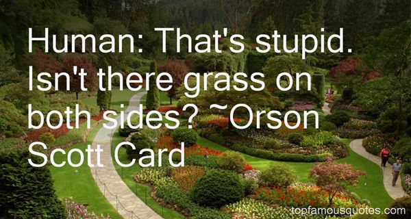 Quotes About Grass