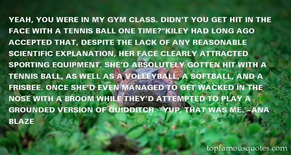 Quotes About Gym Class