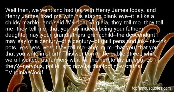 Quotes About Henry James