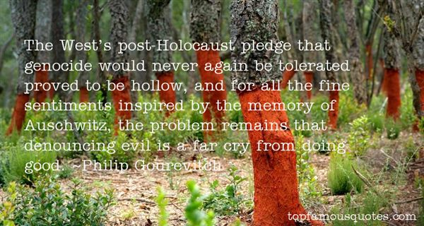 Quotes About Holocaust Genocide
