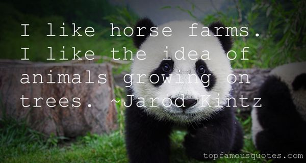 Quotes About Horse Farms