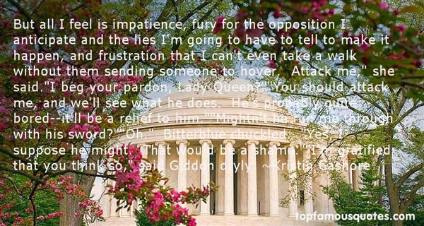Quotes About Impatience