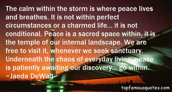 Quotes About Internal Peace