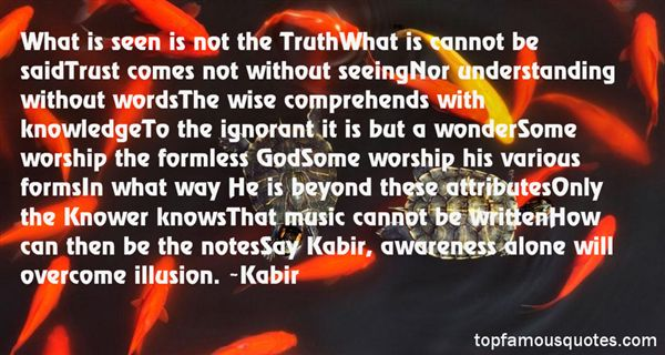 Quotes About Kabir