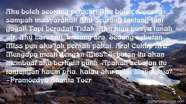 Quotes About Larasati