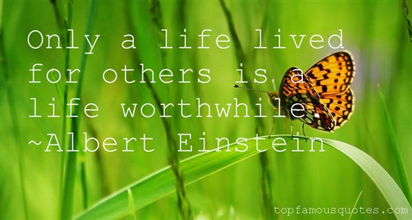 Quotes About Life Lived For Others
