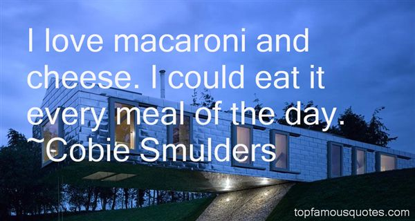 Quotes About Macaroni