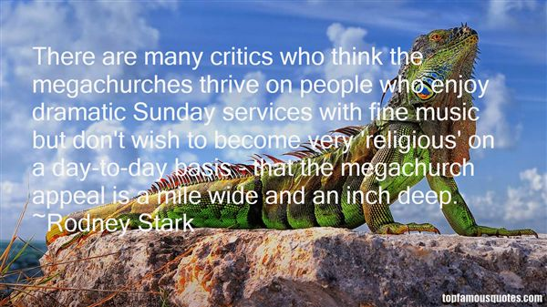 Quotes About Mega Churches