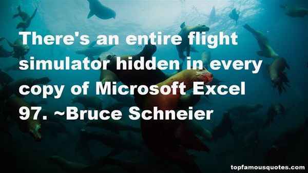 Quotes About Microsoft Excel