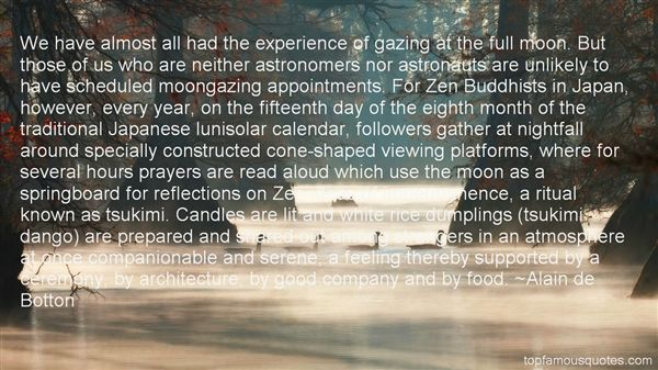 Quotes About Moon Gazing
