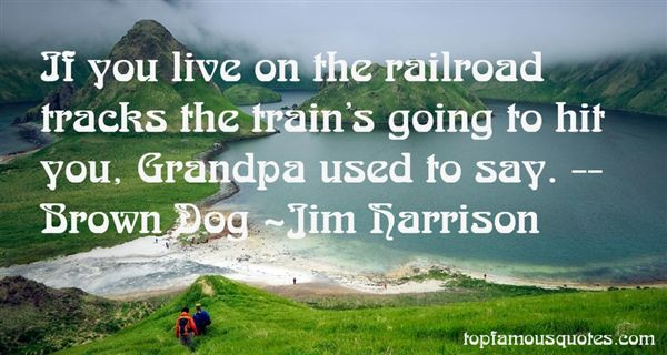 Quotes About Railroad Tracks
