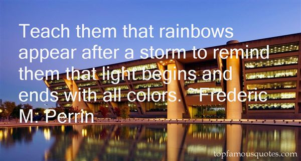 Quotes About Rainbows After Storm