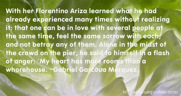 Quotes About Realizing Love
